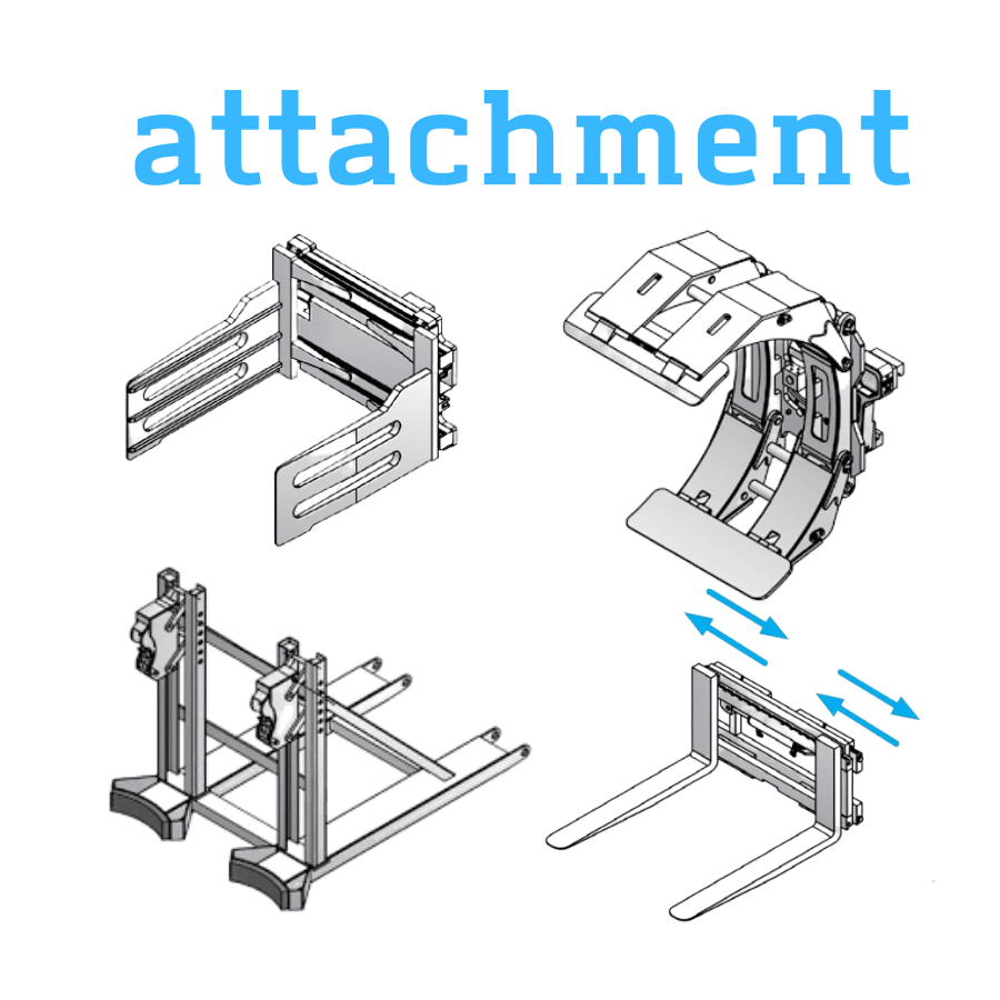 attachment xe nâng